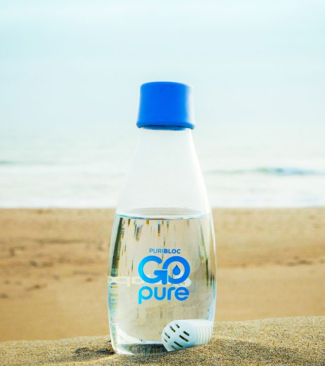 GOpure water bottle with pod