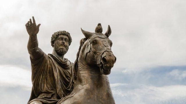 statue in horse
